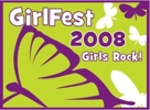 Girl Fest Patch